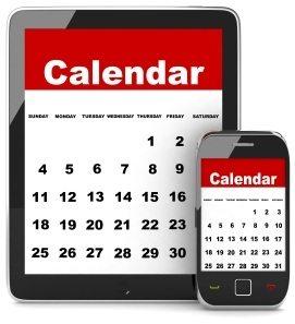 Baker Chiropractic Calendar